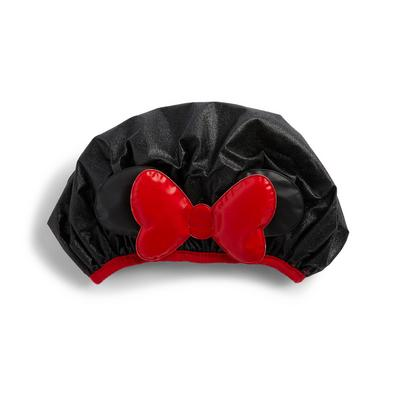 Black Disney Minnie Mouse Shower Cap