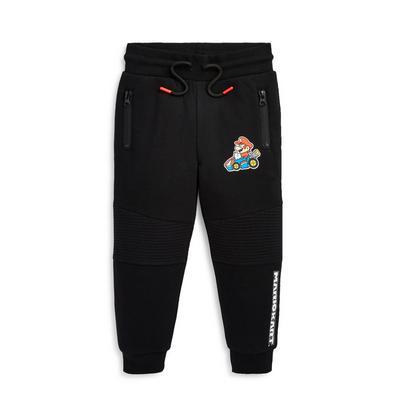 Schwarze Mario Kart-Jogginghose (kleine Jungen)