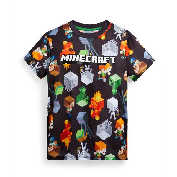 Older Boy Minecraft Print T-Shirt