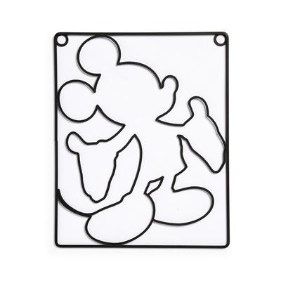 Disney Mickey Mouse Silhouette Wire Wall Art