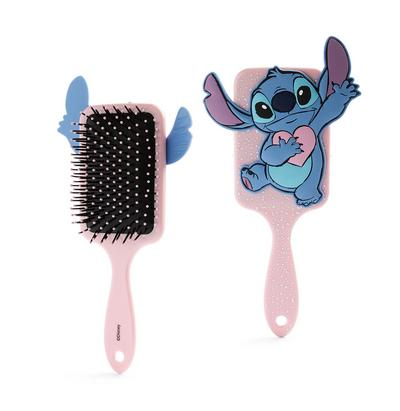 Disney Lilo And Stitch Pink Paddle Brush
