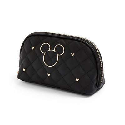 Črna torbica za ličila s kovicami Disney Mini Miška
