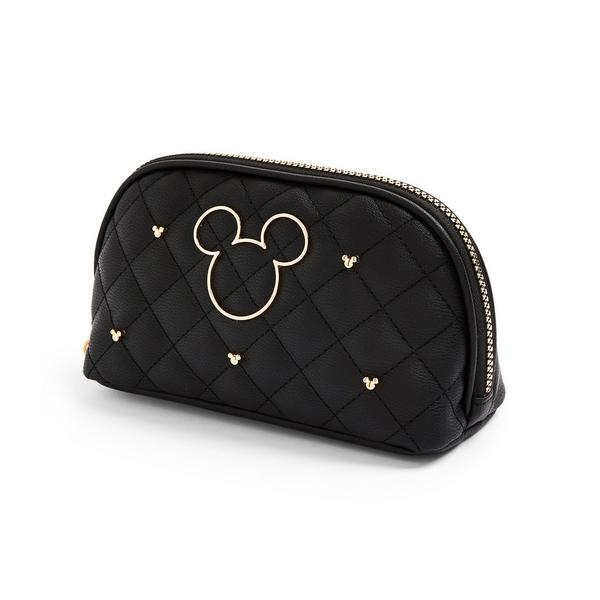 Zwarte make-uptas Disney Minnie Mouse met studs