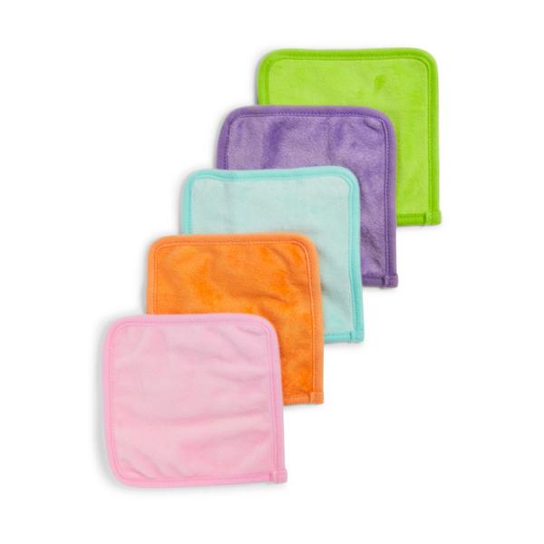 5 Pack Mood Boost Double Sided Face Cleansing Cloths