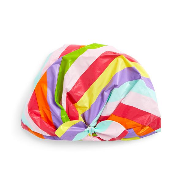 Mood Boost Rainbow Shower Cap