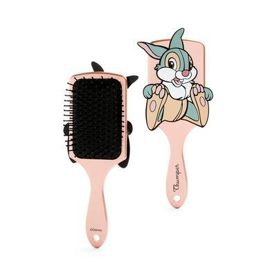 Rose Gold Bambi Thumper Sketch Paddle Hair Brush