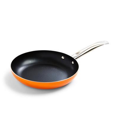 Medium Orange Frying Pan