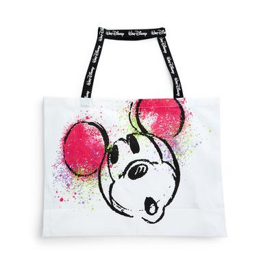Extra Large Disney Mickey Mouse Graffiti Canvas Bag