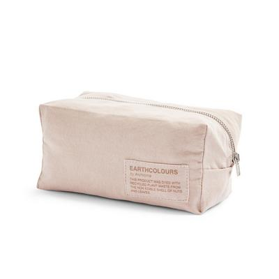 Organic Cotton Blush Earthcolors By Archroma Make Up Bag