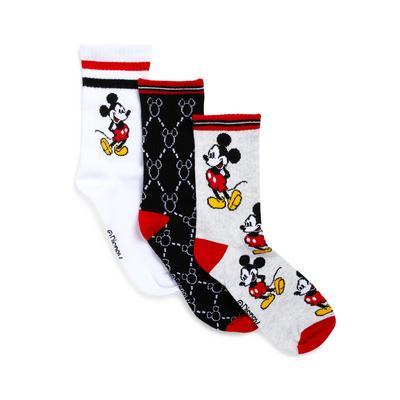 Raznolike nogavice Disney Miki Miška, 3 pari