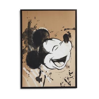 Disney Mickey Mouse Face Wall Art Canvas 70x50cm