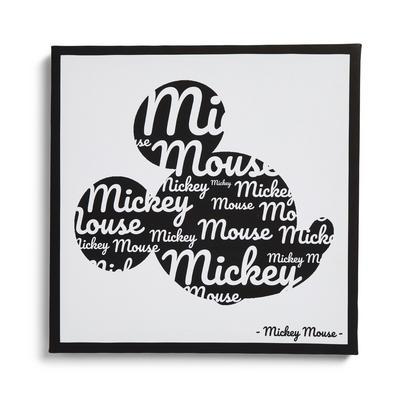 Disney Mickey Mouse Head Wall Art Canvas