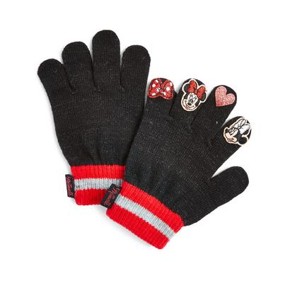 Charcoal Minnie Mouse Puppet Gloves