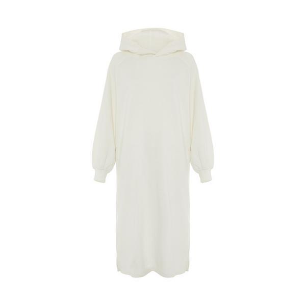Primark Cares Ivory Full Sleeve Hoodie Dress