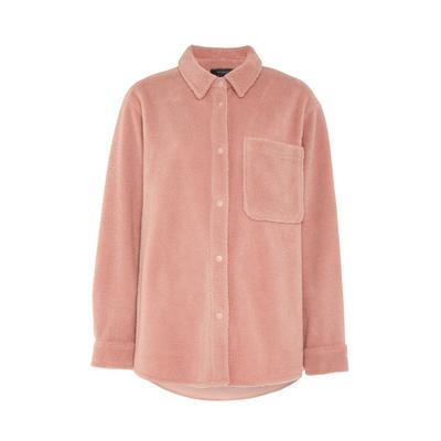 Blush Fleece Shirt