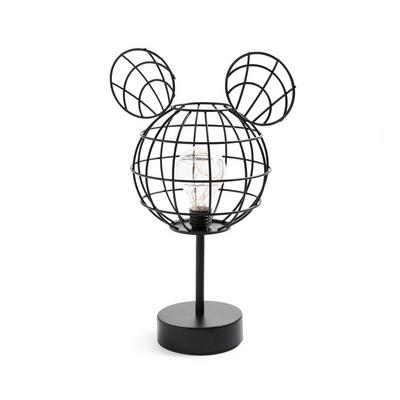 Black Disney Mickey Mouse Wire Standing Lamp
