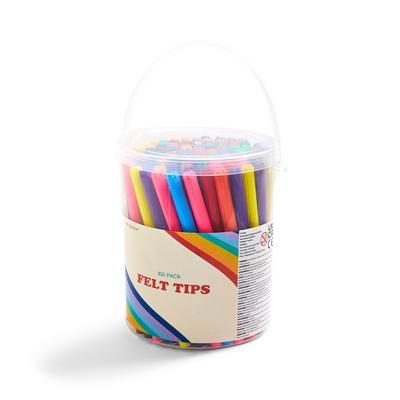 100-Pack Felt Tip Tub