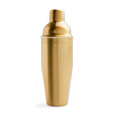 Goldtone Cocktail Shaker