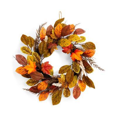 Autumnal Leaf Hanging Wreath