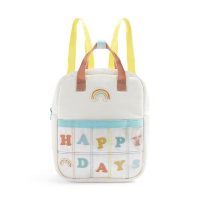 Stacey Solomon Ivory Happy Days Rainbow Backpack
