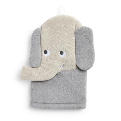 Guanto da bagno con elefante Babyworld Friend