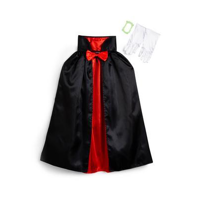Child's Black Vampire Cape
