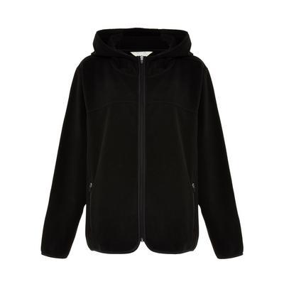 Black The Great Outdoors Fleece Liner Hooded Jacket