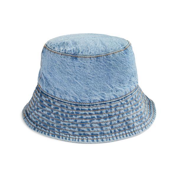 Primark Cares Blue Hemp Denim Bucket Hat