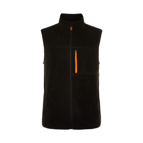 Great Outdoors Black Fleece Vest