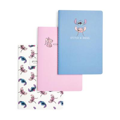 3-Pack Lilo And Stitch A5 Notebooks
