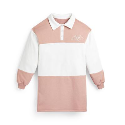Roze Varsity-jurk voor meisjes