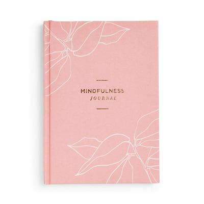 Roze Wellness-mindfulnessdagboek
