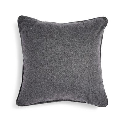 Grey Wool Rich Cushion