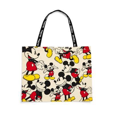 Extra Large Disney Minnie Mouse Nostalgia Canvas Shopper Bag