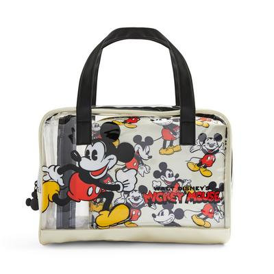 Extra Large Clear Perspex Disney Mickey Mouse Nostalgia Vanity Case