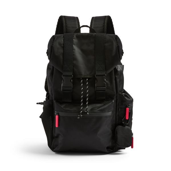 Black Go Hiking Black Backpack
