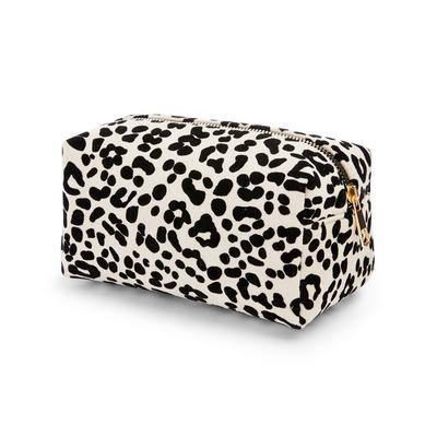 Animal Print Make-Up Bag