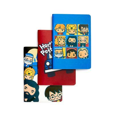 3-Pack Harry Potter A6 Notebooks