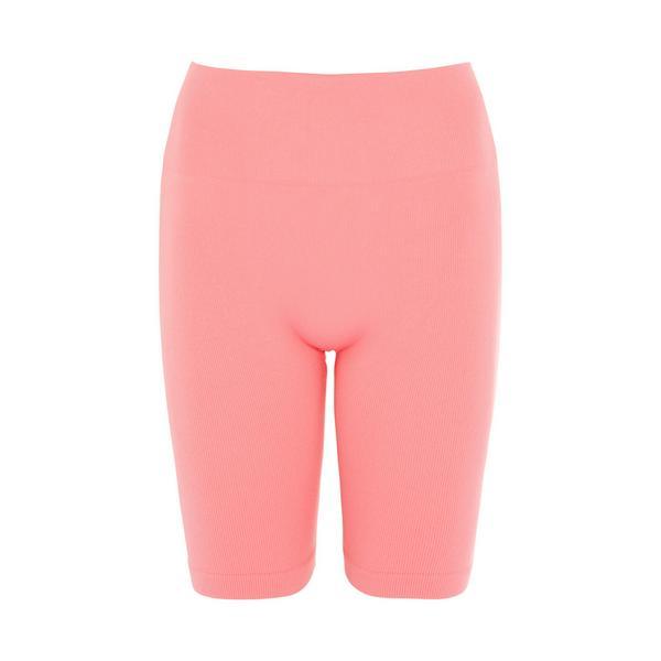 Shorts senza cuciture rosa