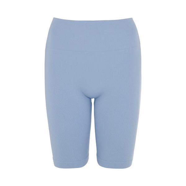Blue Seamfree Shorts