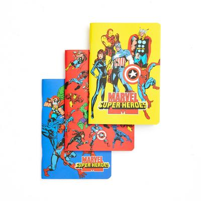3-Pack Marvel A6 Notebooks