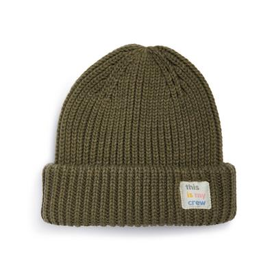 Stacey Solomon Olive Beanie Hat