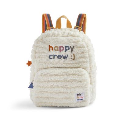 Stacey Solomon Ivory Happy Backpack