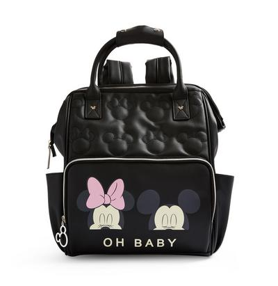 Black Disney Minnie Mouse Changing Backpack