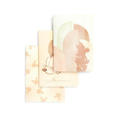 3-Pack Disney Minnie Mouse A6 Notebooks
