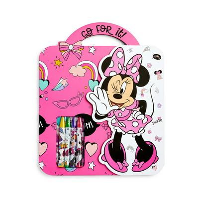 Creatieve roze kleurset Disney Minnie Mouse