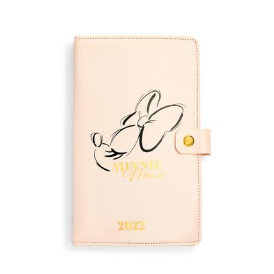 Pink Disney Minnie Mouse 2022 Planner