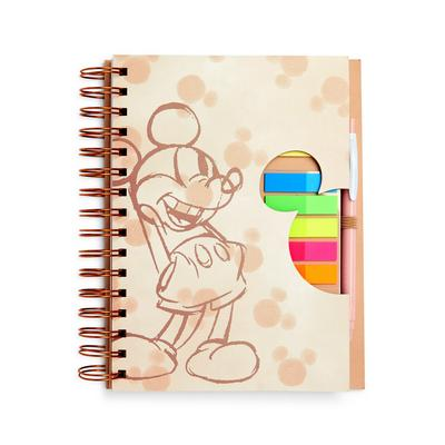 Disney Mickey Mouse A5 Tab Notebook