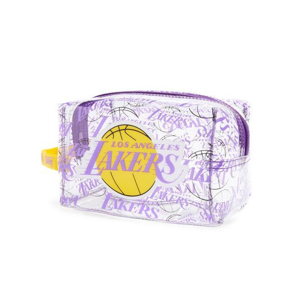 Clear Perspex NBA LA Lakers Make Up Bag