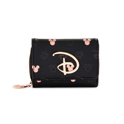Rdeče zlata enobarvna torbica s poklopcem Disney Miki in Miška